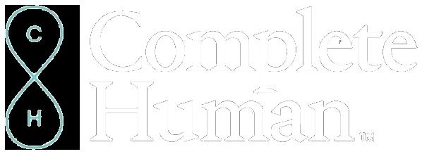 complete-human-logo-white